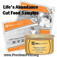 Life's Abundance Cat Food Samples