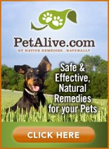 PetAlive.com Safe and Effective Natural and Homeopathic Remedies for your Pets