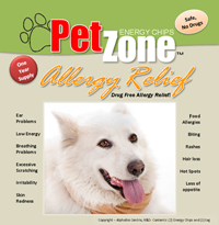 PetZone Drug Free Allergy Relief for Dogs and Cats