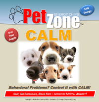 PetZone Calm to Reduce Stress and Anxiety in Dogs and Cats