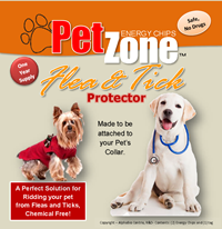 PetZone Flea and Tick Pet Protector for Dogs and Cats